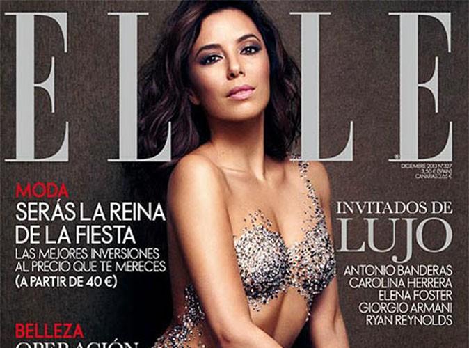 "Eva Longoria pose nue en Une du magazine ""Elle"""