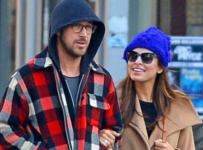 Eva Mendes et Ryan Gosling : le couple attendrait un petit gar�on !