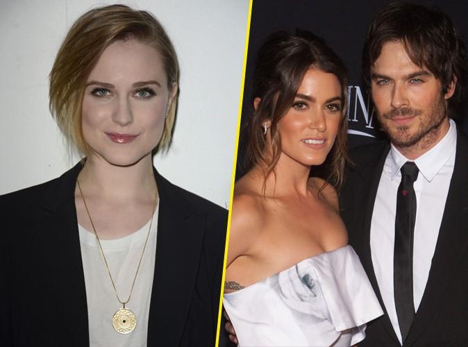 Evan Rachel Wood : elle réagit amèrement face aux fiançailles de Nikki Reed et Ian Somerhalder !