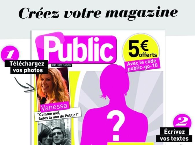 Faites la couverture de Public avec Studio Public !