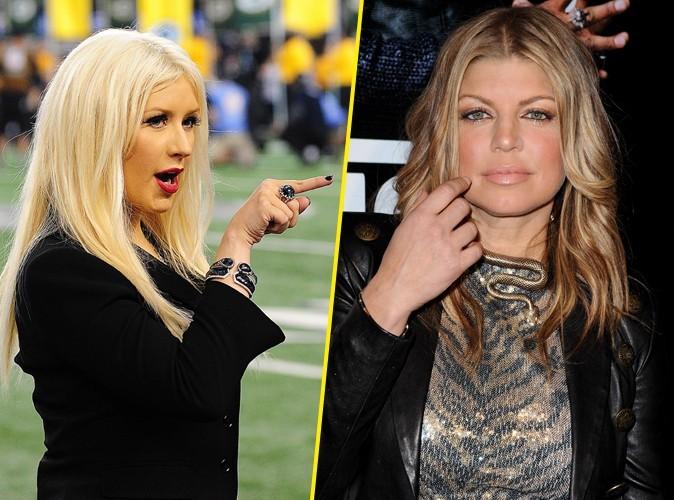 """Fergie : """"Christina Aguilera est l'une des meilleures chanteuses de sa génération"""""""