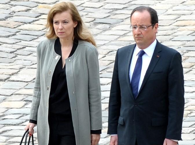 """François Hollande et Valérie Trierweiler : """"en bons termes"""" après leur rupture !"""