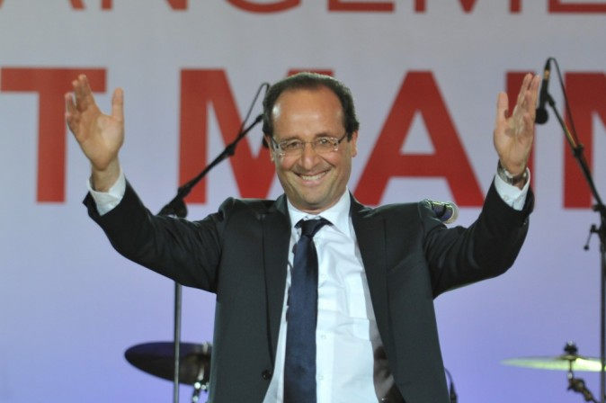 François Hollande : le 24e président de la République française !