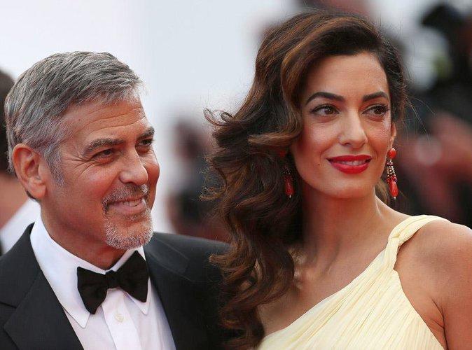 Amal enceinte, c'est confirmé ! George Clooney bientôt papa de jumeaux