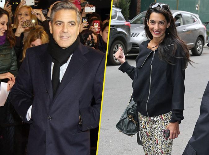 George Clooney : ses fiançailles avec Amal Alamuddin confirmées !