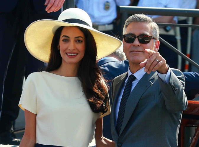 George et Amal Clooney : bientôt parents ?