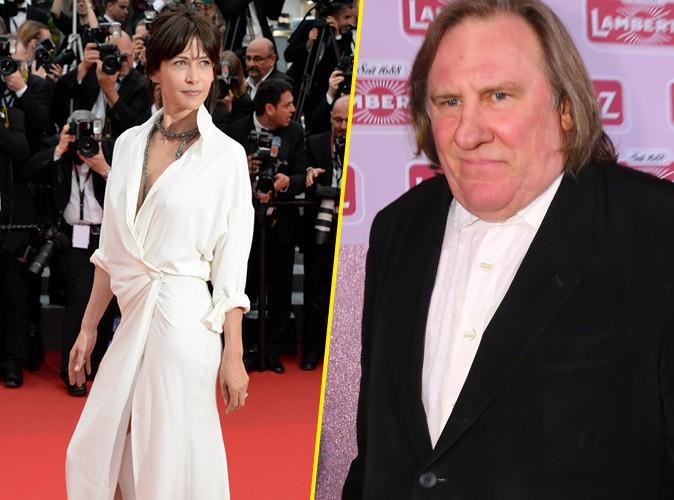 """Gérard Depardieu : """"Il n'y a que chez Sophie Marceau que l'on voit tantôt un sein, tantôt une culotte"""" !"""
