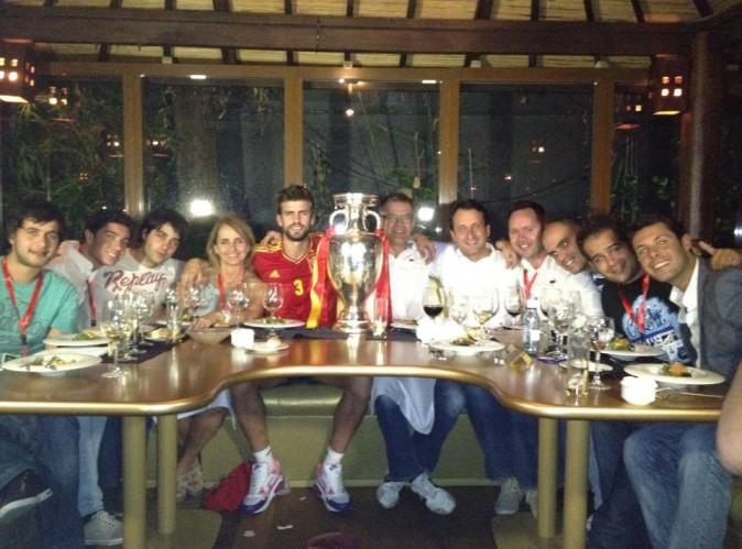 Gerard Piqué : de retour en Espagne, il célèbre sa victoire en famille !