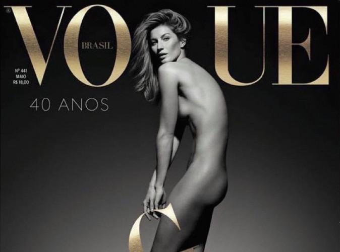 Gisele Bündchen : pour fêter ses 20 ans de carrière, Vogue la met à nue !