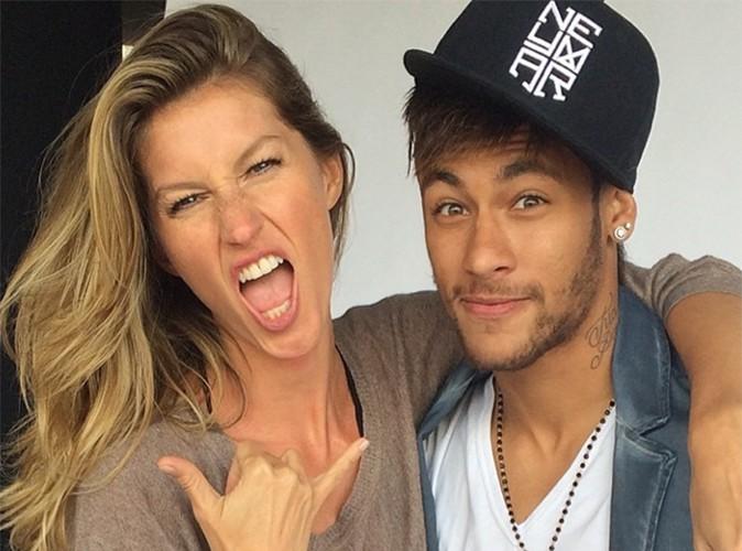 Gisele Bündchen : ultra-complice avec le footballeur Neymar !