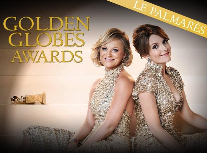 Golden Globes 2013 : découvrez le palmarès !