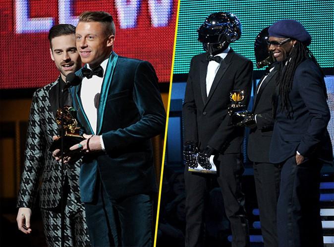 Grammy Awards 2014 : Macklemore, Ryan Lewis et Daft Punk raflent tous les trophées... découvrez le palmarès de la soirée !