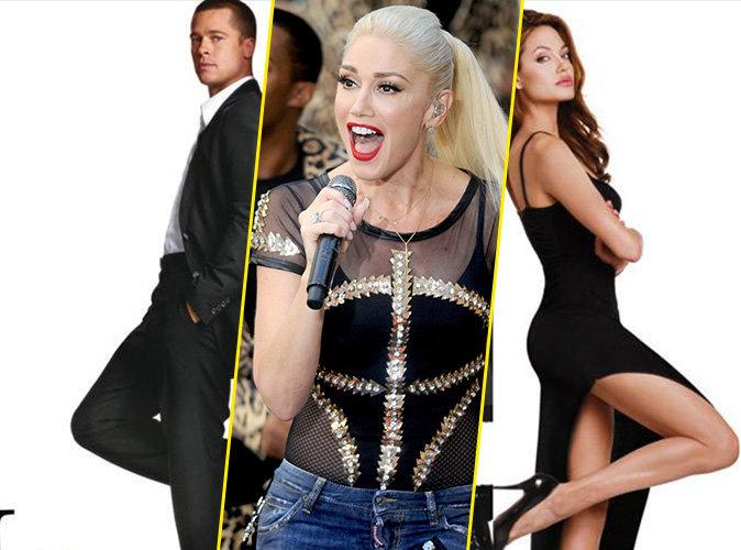 Gwen Stefani : Angelina Jolie lui a volé Brad Pitt !