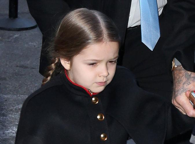 Harper Beckham : manucure et pédicure... à l'âge de 4 ans !