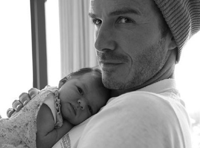 Harper Seven Beckham : élue personnalité de moins de 25 ans la plus puissante au monde alors qu'elle n'a que deux mois !