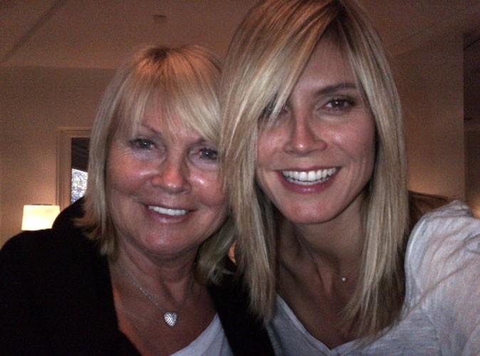 Heidi Klum : elle s'offre une nouvelle coupe de cheveux avec sa maman !