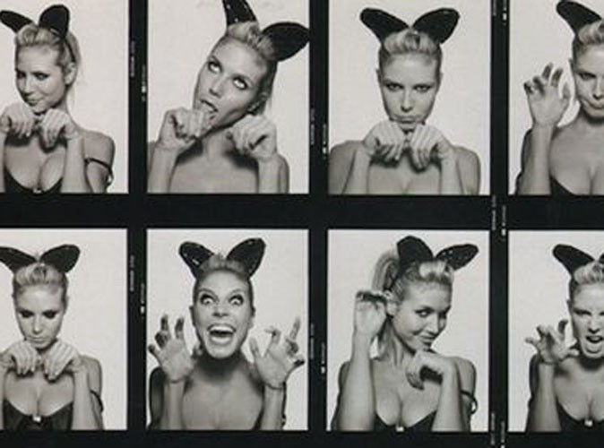 Heidi Klum : mignon petit chaton !