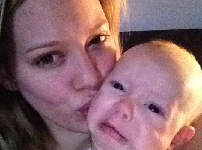 Hilary Duff : au naturel avec son petit Luca !