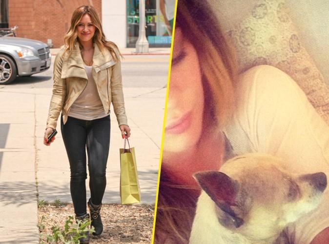 Hilary Duff : en deuil depuis la mort de son chien...