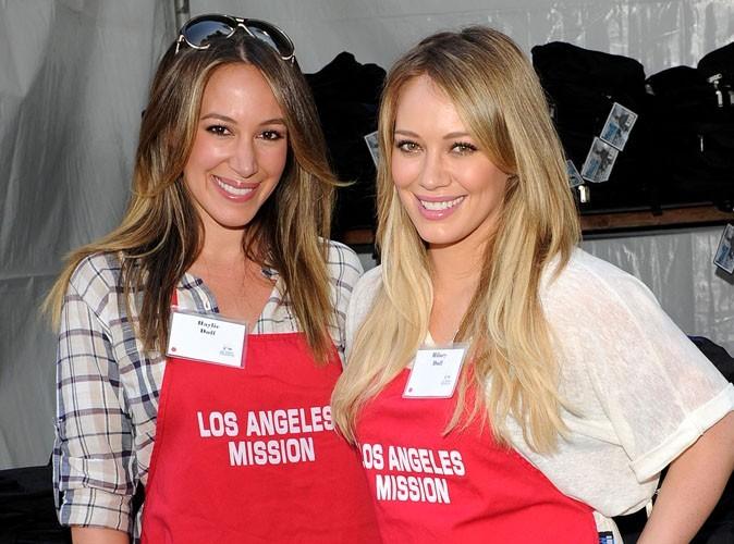 "Hilary Duff possède ""un très bon instinct maternel"" selon sa sœur Haylie"