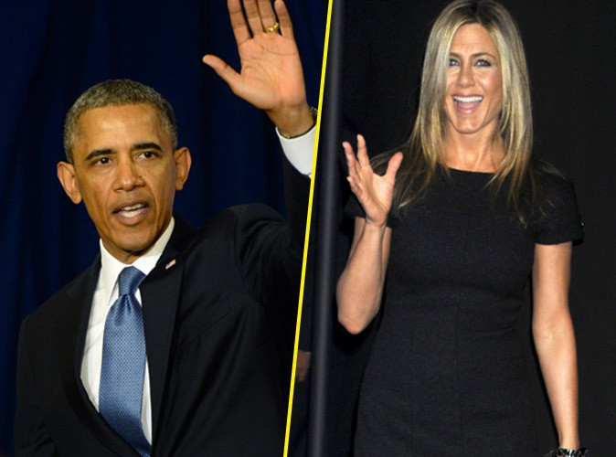 Hollande-Gayet : quand un très sérieux journal britannique imagine la même affaire entre Barack Obama et Jennifer Aniston !