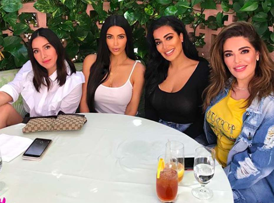 Huda Beauty et Kim Kardashian posent ensemble... la toile voit double !