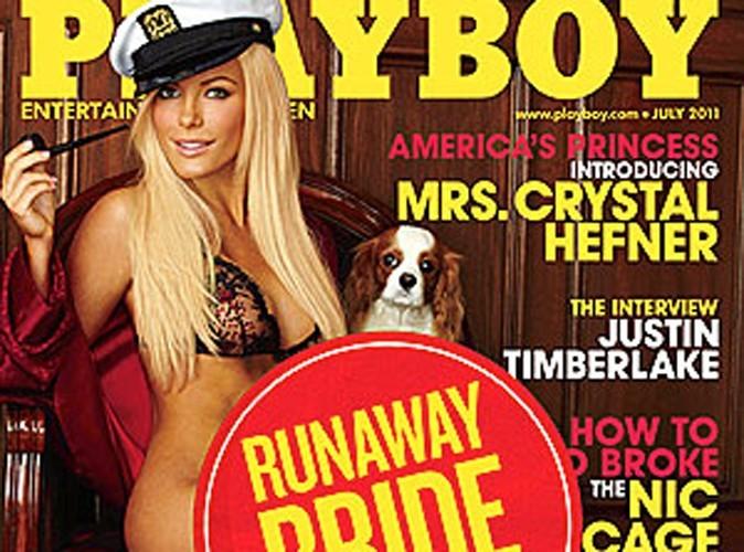 Hugh Hefner : le patron de Playboy fait du business même quand il se fait larguer !