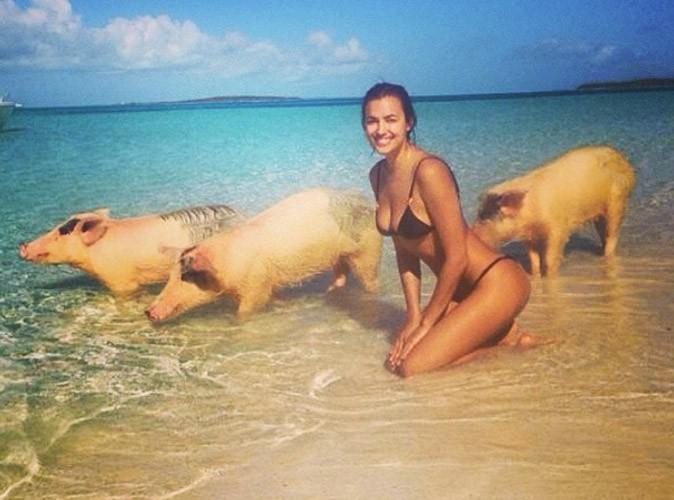 Irina Shayk : elle remporte la palme de la photo de vacances insolite !