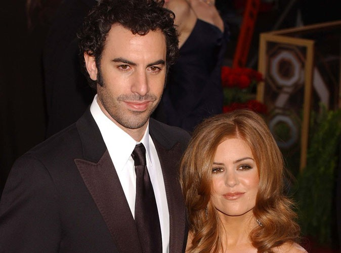 Isla Fisher et Sacha Baron Cohen : leur seconde fille s'appelle...