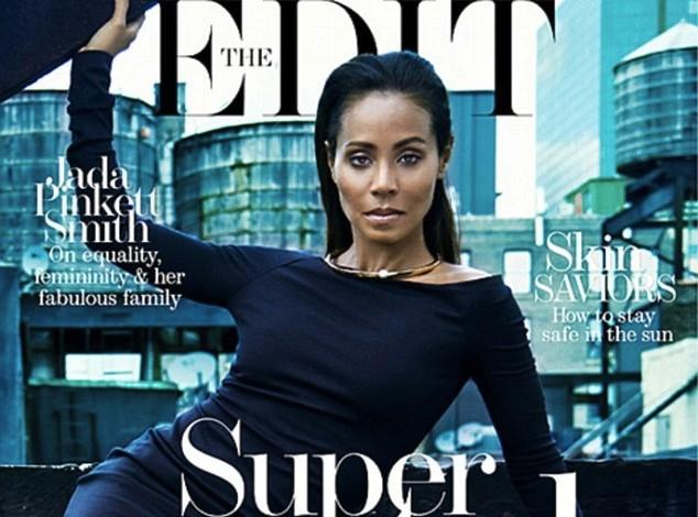 Jada Pinkett Smith : en couverture du magazine The Edit, elle s'enthousiasme à propos de son mariage...
