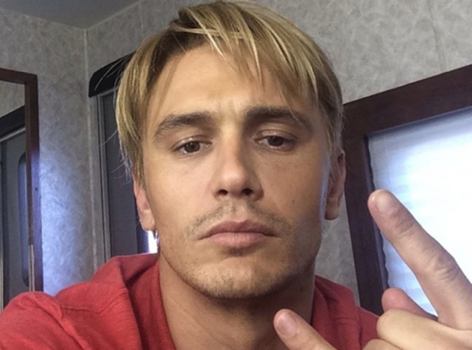 James Franco : et maintenant, il passe au blond !