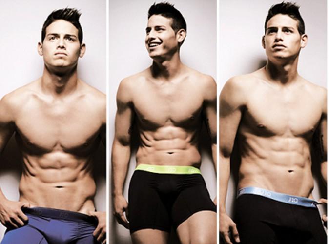 James Rodriguez : et encore un footballeur en slip !