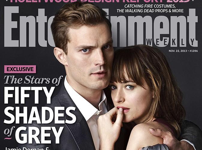 """Jamie Dornan et Dakota Johnson : le duo de """"50 Shades of Grey"""" s'offre sa première couverture !"""