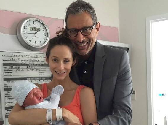 Jeff Goldblum et Emilie Linvingston : Ils sont parents d'un baby-boy !