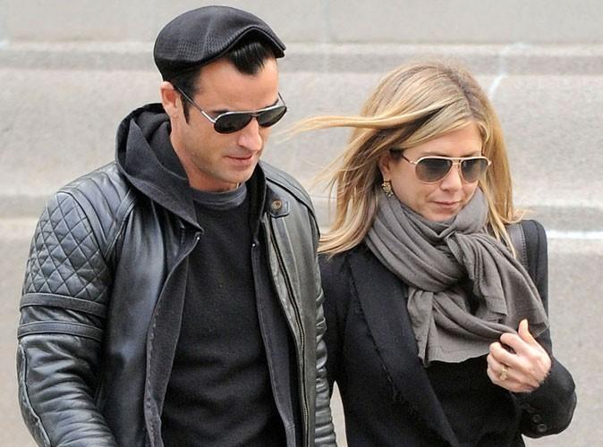Jennifer Aniston et Justin Theroux : fini le look biker... le glamour est au rendez-vous !