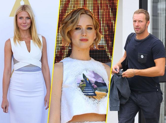 """Jennifer Lawrence et Chris Martin : """"ça ne pouvait pas durer"""" pour Gwyneth Paltrow !"""