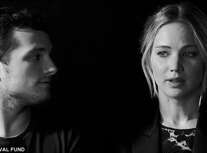 Jennifer Lawrence : elle se mobilise contre le virus Ebola avec les acteurs d'Hunger Games !