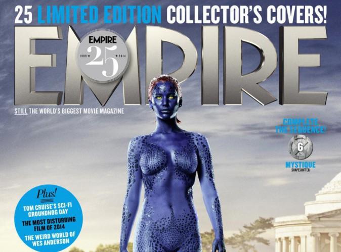 Jennifer Lawrence : nue et toute vêtue d'écailles sur papier glacé !