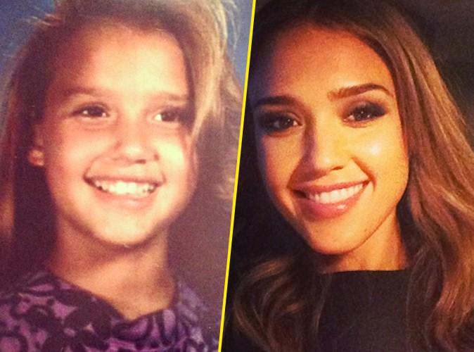 Jessica Alba : déjà canon quand elle était fillette !