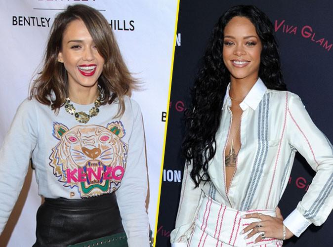Jessica Alba : des airs de Rihanna ?