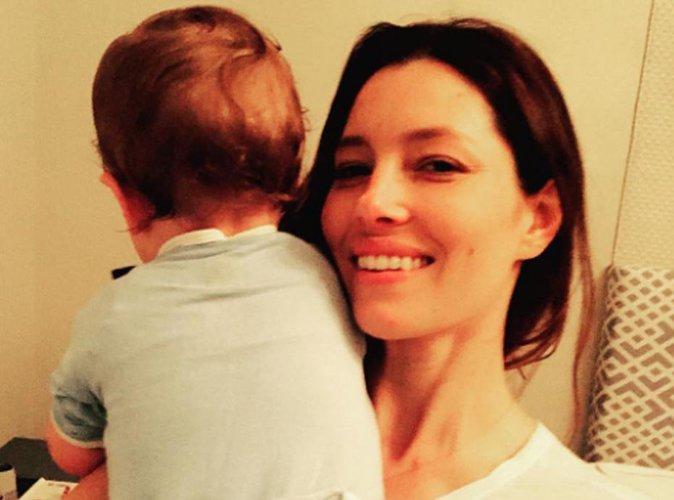 Jessica Biel partage une tendre photo de son fils pour la F�te des M�res