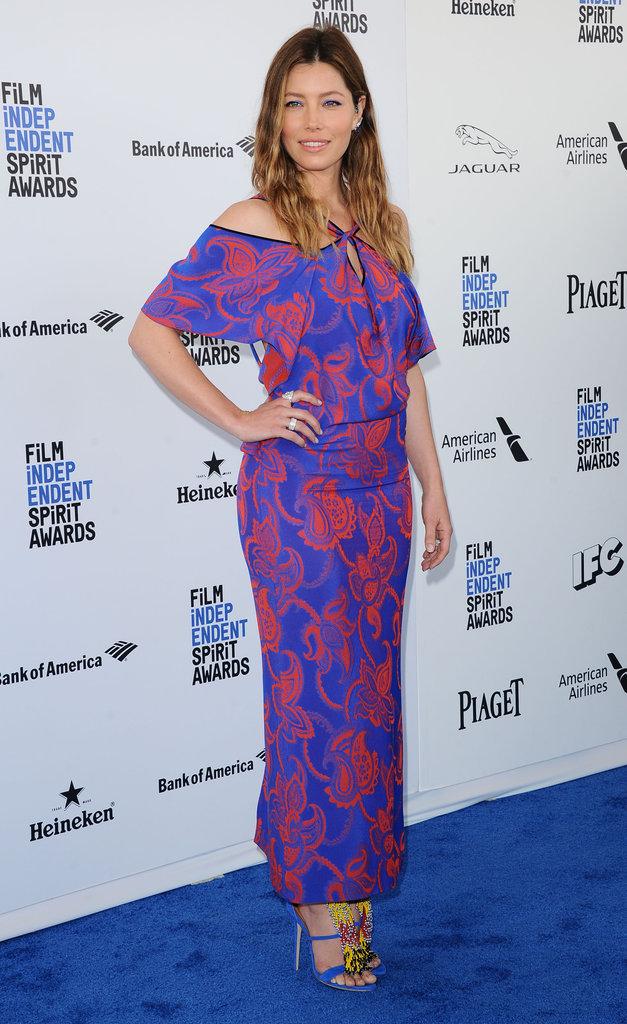 Jessica Biel se moque des rumeurs de grossesse :
