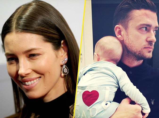 Jessica Biel : son petit Silas est le double de Justin Timberlake !