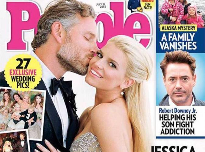 Jessica Simpson : En couverture de People, elle célèbre son mariage !