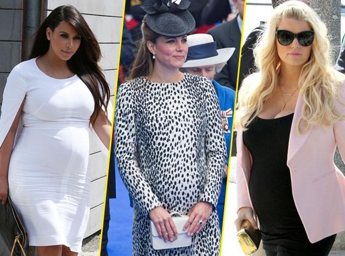 Jessica Simpson : envieuse de la grossesse de Kate Middleton, compatissante pour Kim Kardashian !
