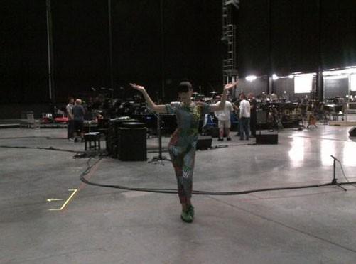 Jessie J : en pleines répétitions pour le Jubilé de la Reine !