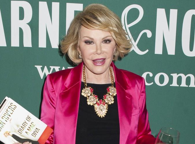 Joan Rivers : la star américaine est décédée...