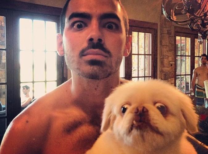 Joe Jonas : torse nu, il a du chien !