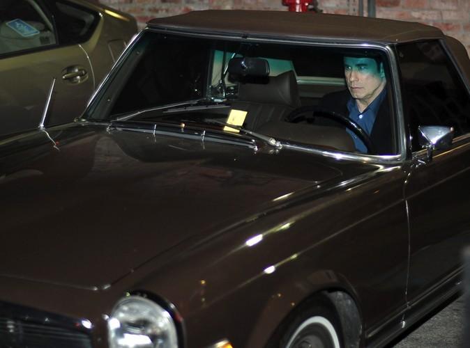 John Travolta : il se fait voler sa Mercedes !