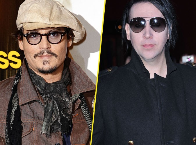 Johnny Depp : en duo avec Marilyn Manson !